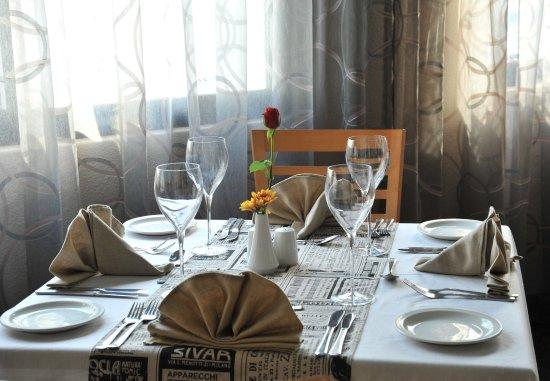 Midrand, África do Sul: Restaurant   Table Setting