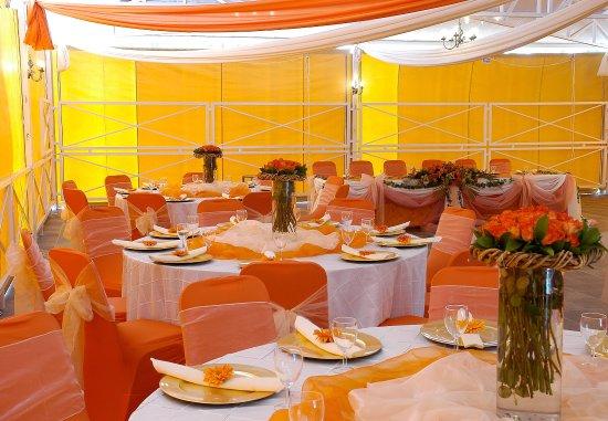 Protea Hotel by Marriott Polokwane Landmark: Wedding Reception Setup
