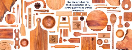 Clevedon, Nueva Zelanda: We have a huge variety of quality NZ made wooden products