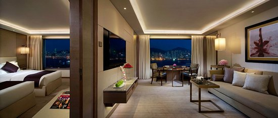 InterContinental Grand Stanford: Premier Harbour View Suite - Double