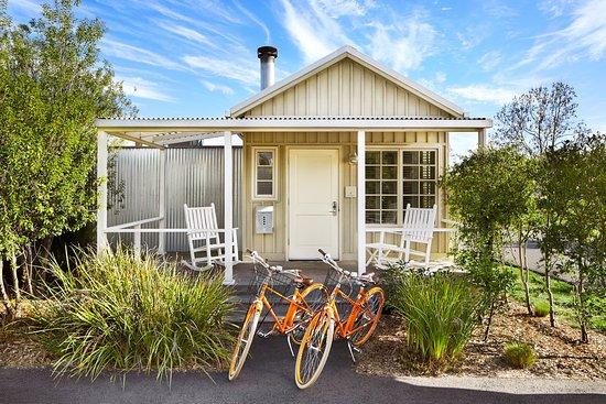 Carneros Resort and Spa: Cottage Bikes