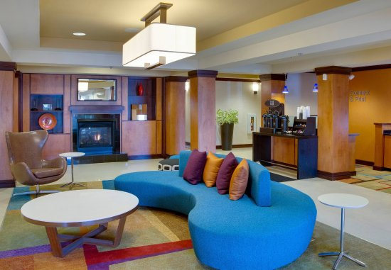 Fairfield Inn & Suites Melbourne Palm Bay/Viera: Lobby