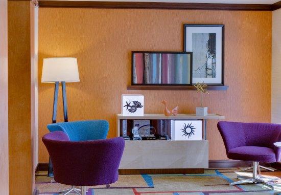 Fairfield Inn & Suites Melbourne Palm Bay/Viera: Lobby Seating Area