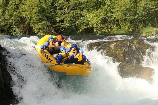 White Salmon, WA: Oh Yeah - It's Like this at Husum Falls