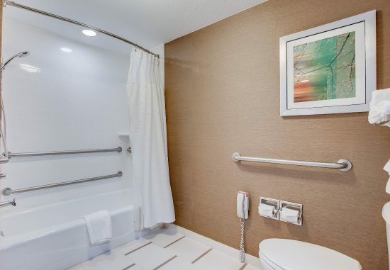 Amesbury, Μασαχουσέτη: Accessible Bathroom