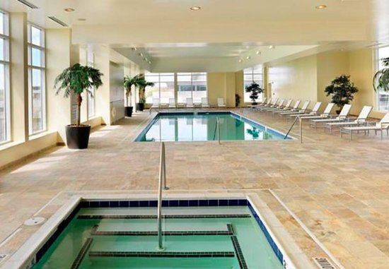Raleigh Marriott City Center: Indoor Pool & Whirlpool