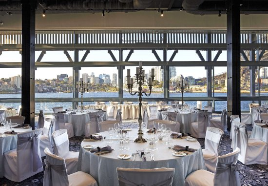 Pier One Sydney Harbour, Autograph Collection: Water at Pier One   Wedding Setup