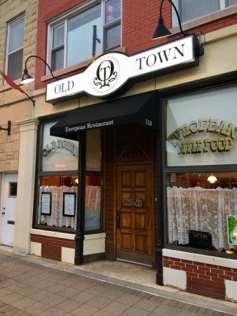 Lemont, IL: Old Town Restaurant
