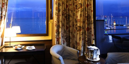 Morges, Suiza: Double room superior