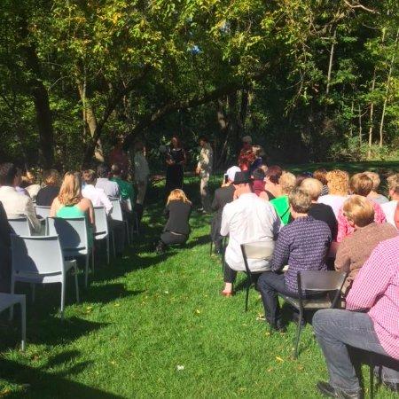 Douglas, MI: Backyard Wedding