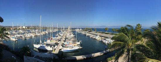 La Cruz de Huanacaxtle, Meksika: vista del puerto