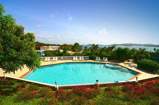Benner, Saint Thomas: Pool Towards Bay
