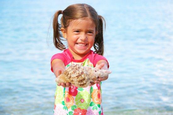 Benner, St. Thomas: Fun finding shells