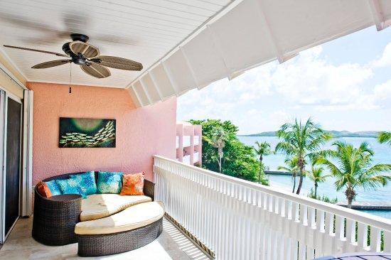Benner, St. Thomas: 1 bedroom condo balcony