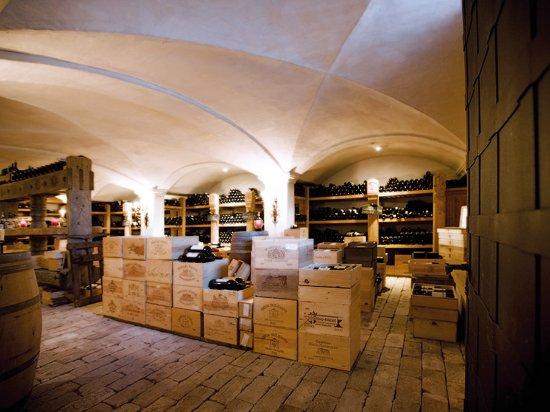 Lech, Austria: Wine Cellar