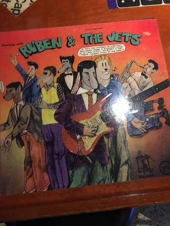"Worthington, OH: Zappa's ""Cruising with Ruben and The Jets"" tabletop"