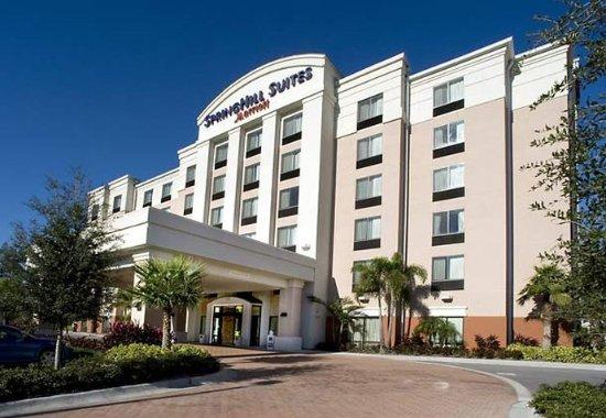 SpringHill Suites Tampa Brandon : Entrance