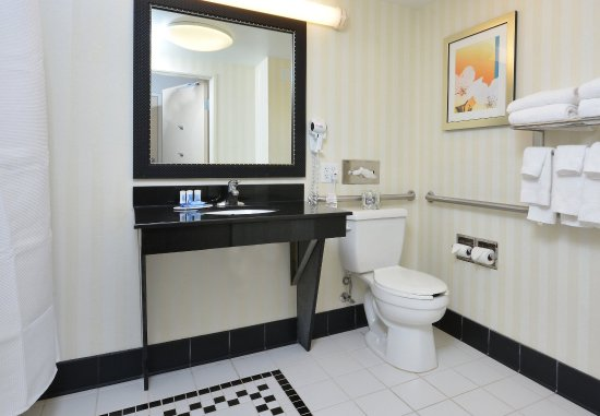 Wytheville, VA: Accessible Guest Bathroom