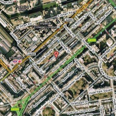 Chrysos Hotel: Location Map