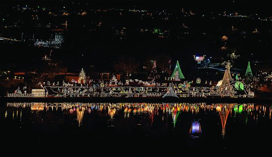 Marble Falls, TX: Xmas Lights