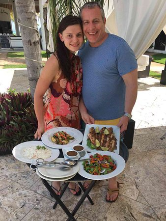 Las Terrazas Resort: Awesome fresh caugh fish lunch
