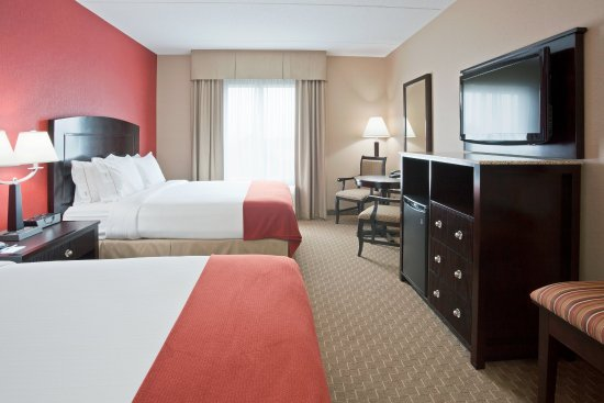 Holiday Inn Express Hotel & Suites Woodstock: Double Bed Guest Room