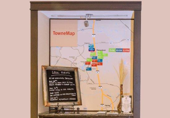 Shenandoah, TX: TowneMap