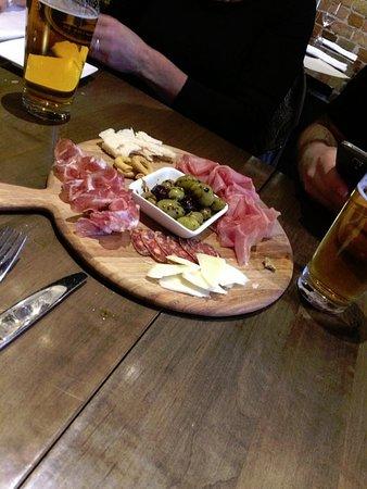 Pane Vino Trattoria & Wine Bar: Antipasta