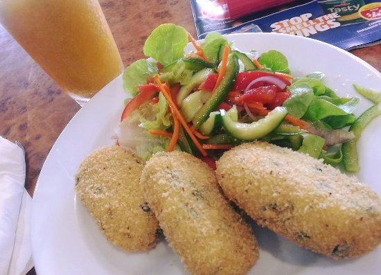 Narrandera, Avustralya: rice fritters, absolutely amazing