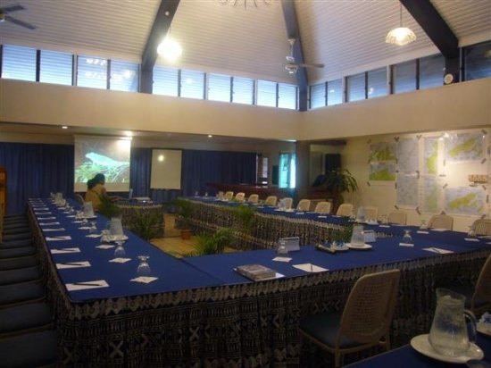 Tanoa Waterfront Hotel: Conference Room