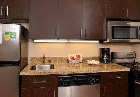 Roseville, CA: Two Bedroom Suite Kitchen Area