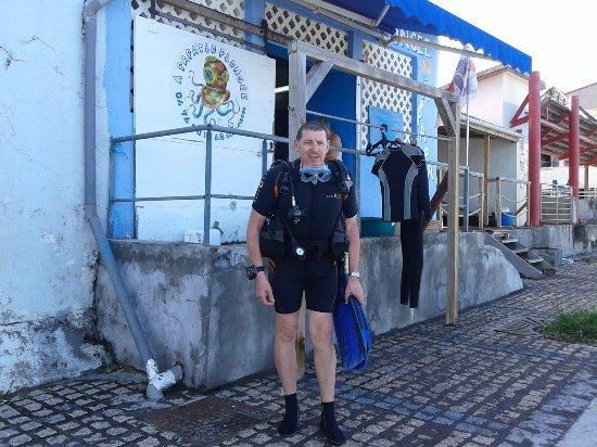 Saint-Pierre, Martinique: Départ Plongée A PAPADLO