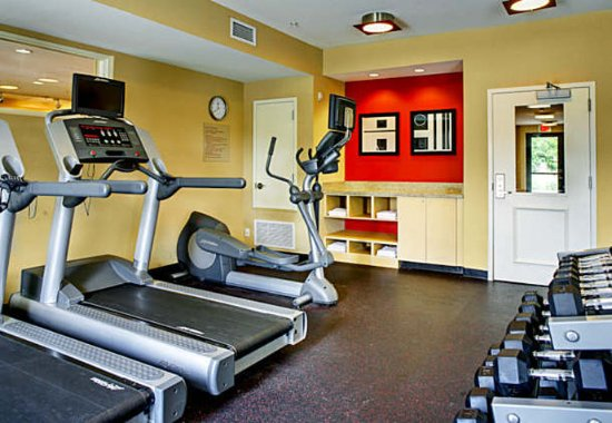 تاون بليس سويتس باي ماريوت شريفبورت بوسير سيتي: Fitness Center