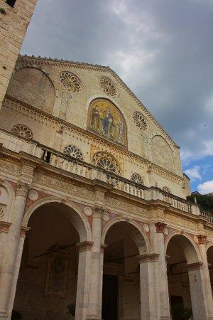 Exterior del Duomo de Spoleto