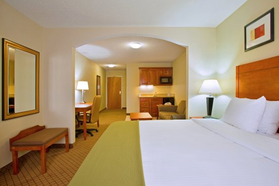 Goshen, IN: Guests love our King Bed Suites. Reserve yours today.