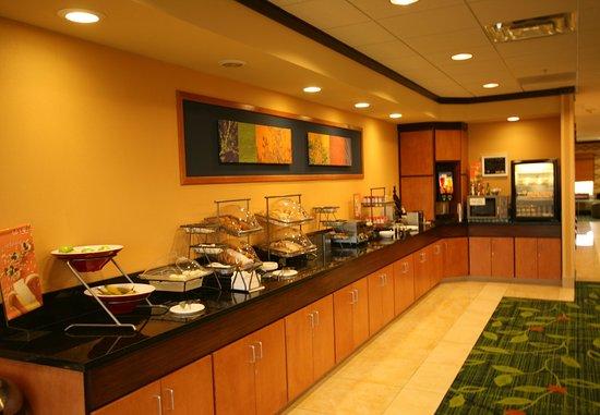 Fairfield Inn & Suites Turlock: HOT Breakfast