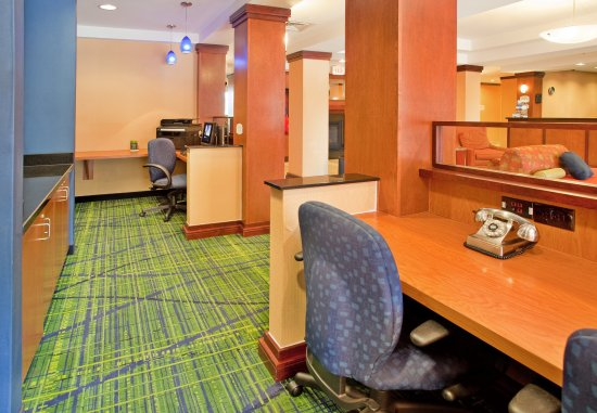 Fairfield Inn & Suites Austin North/Parmer Lane: Business Center
