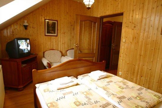 Kromeriz, Tsjechië: Standard double room