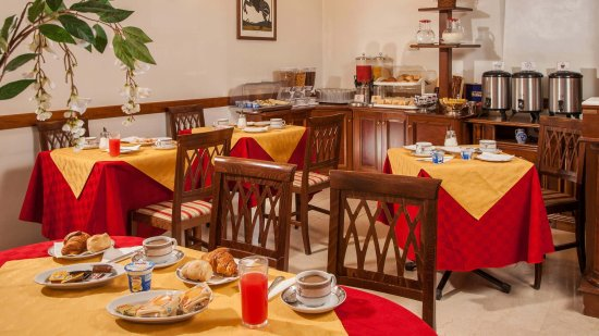 Hotel Grifo: Breakfast room