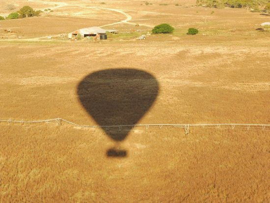 Seppeltsfield, Australia: Flying near Blanchetown.