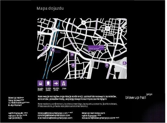 Blow Up Hall 5050: MAP