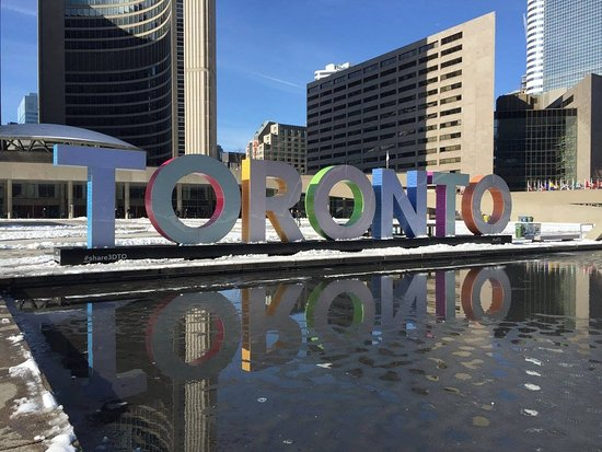 Photo of Monument / Landmark Nathan Phillips Square at 100 Queen St W, Toronto M5H 2N1, Canada