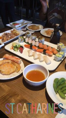 St. Catharines, Canadá: sushi