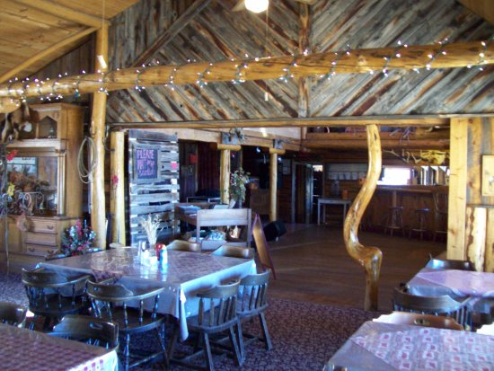 Centennial, WY: The restaurant and Saloon Dance Hall
