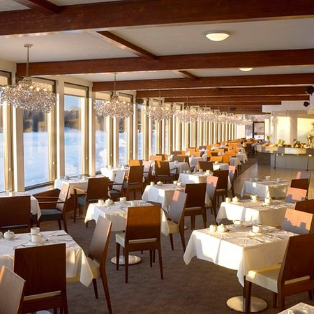 Esterel, Canadá: Restaurant