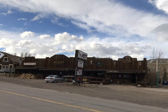 Centennial, WY: Antlers Supper Club and Saloon (formerly known as the Trading Post)