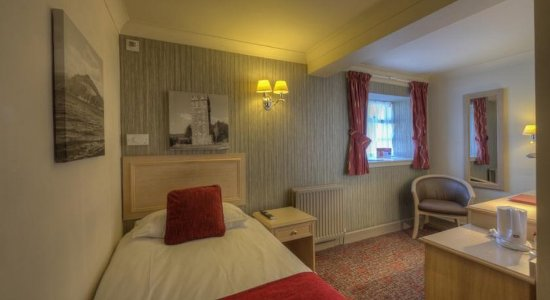 Rhu, UK: Single Room