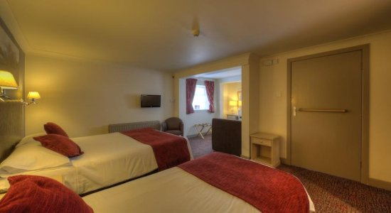Rhu, UK: Twin room