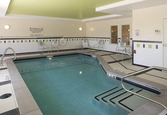 Fairfield Inn & Suites Colorado Springs North/Air Force Academy : Indoor Pool