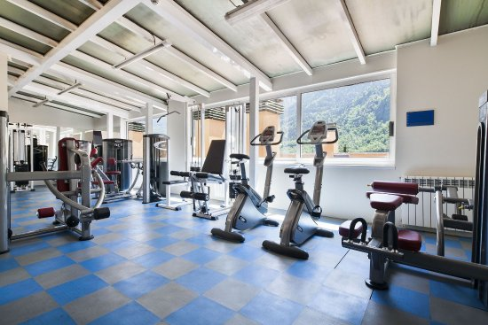 Hotel Andorra Center: Gym